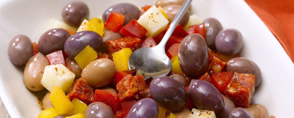 Mix'tranché aux olives violettes