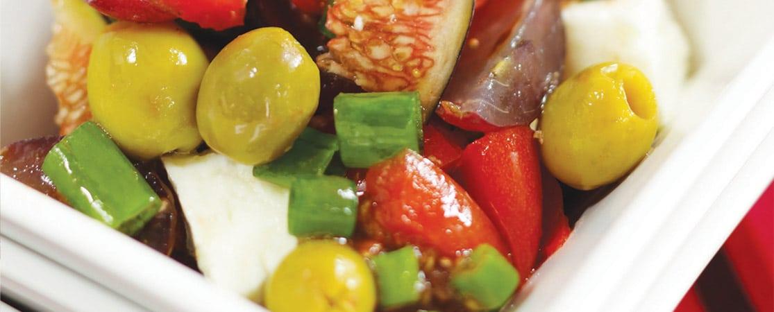 Olives au retour du marché