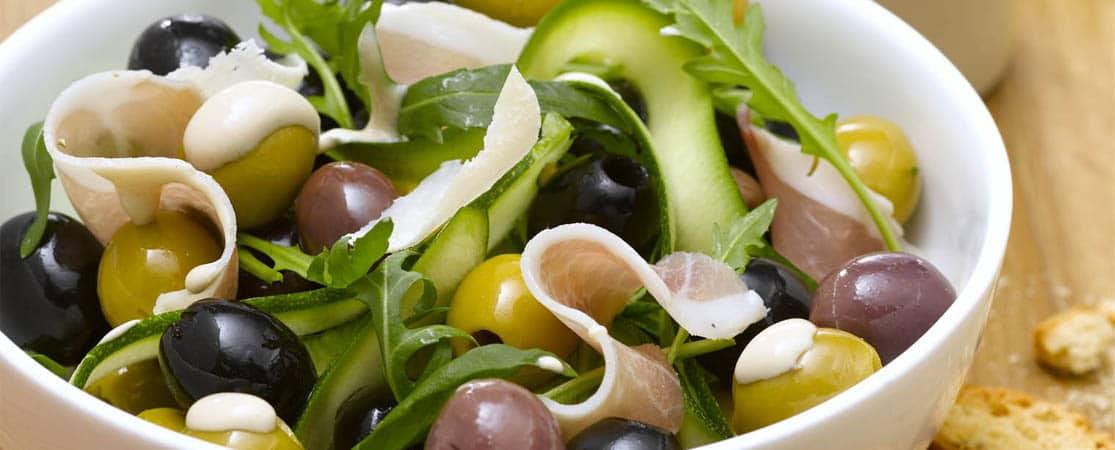 Salade d'olives à la mode dijonnaise