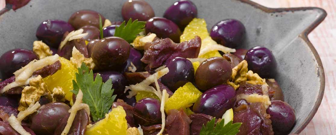 Salade du Sud-Ouest aux Olives