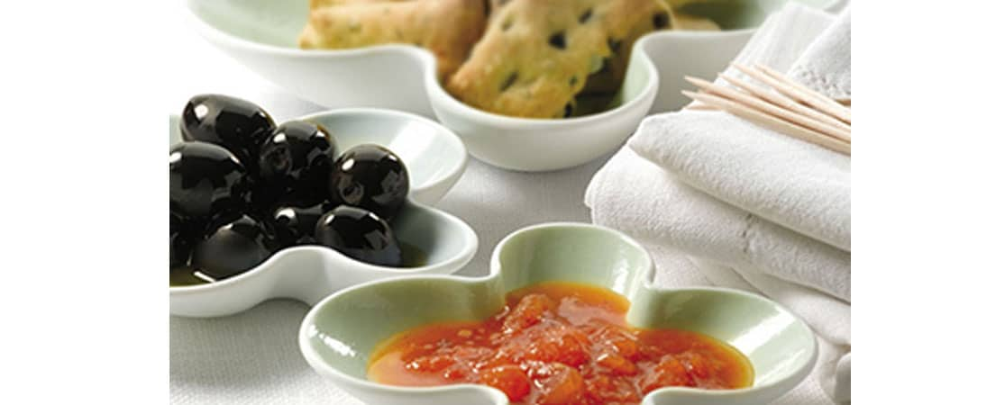 Mini fougasses aux olives